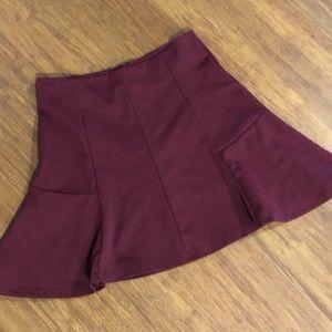 Ambiance Apparel Mini Skirt